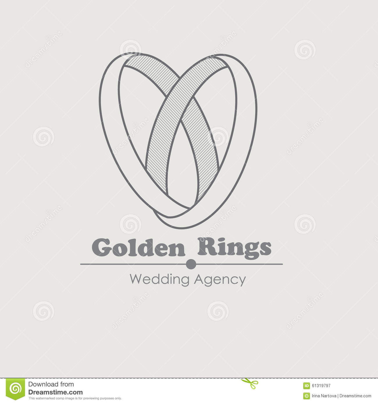 logohut rings logo product wedding