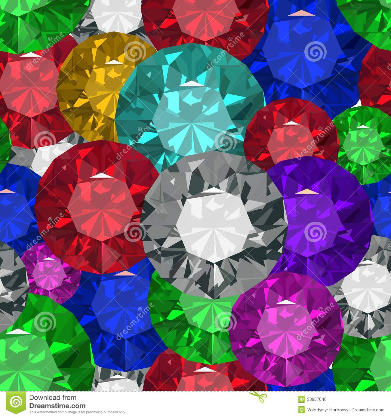 Jewels Tecsture.Seamles Stock Photo - Image: 33957040
