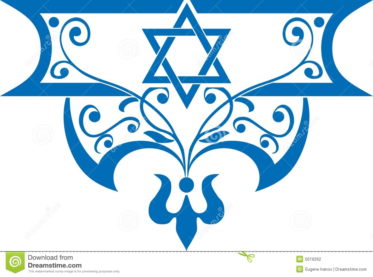 Jewish Background Stock Photography - Image: 5019262