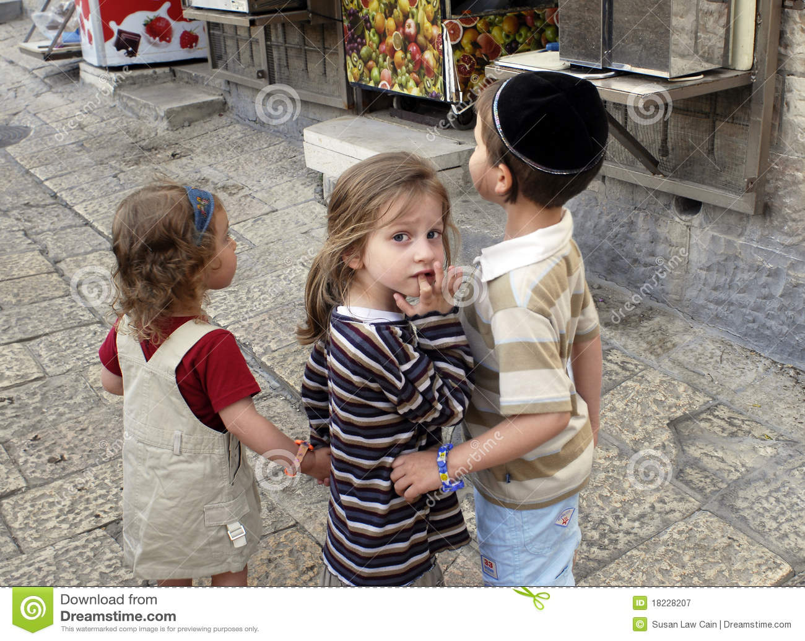 Jewish Children, Jerusalem Editorial Photography - Image: 18228207