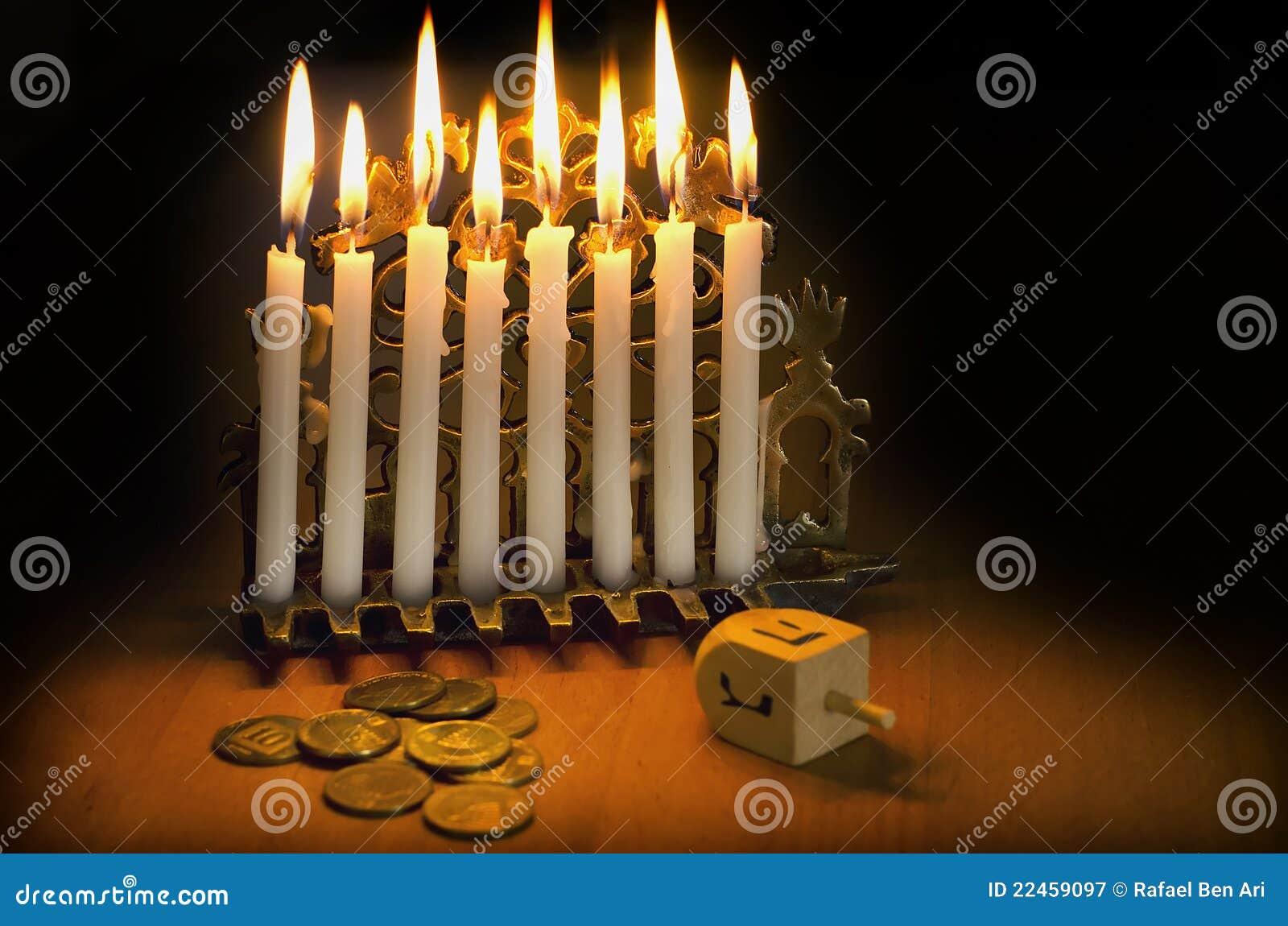 Jewish Holiday Hanukkah Stock Image Image Of Hannukah