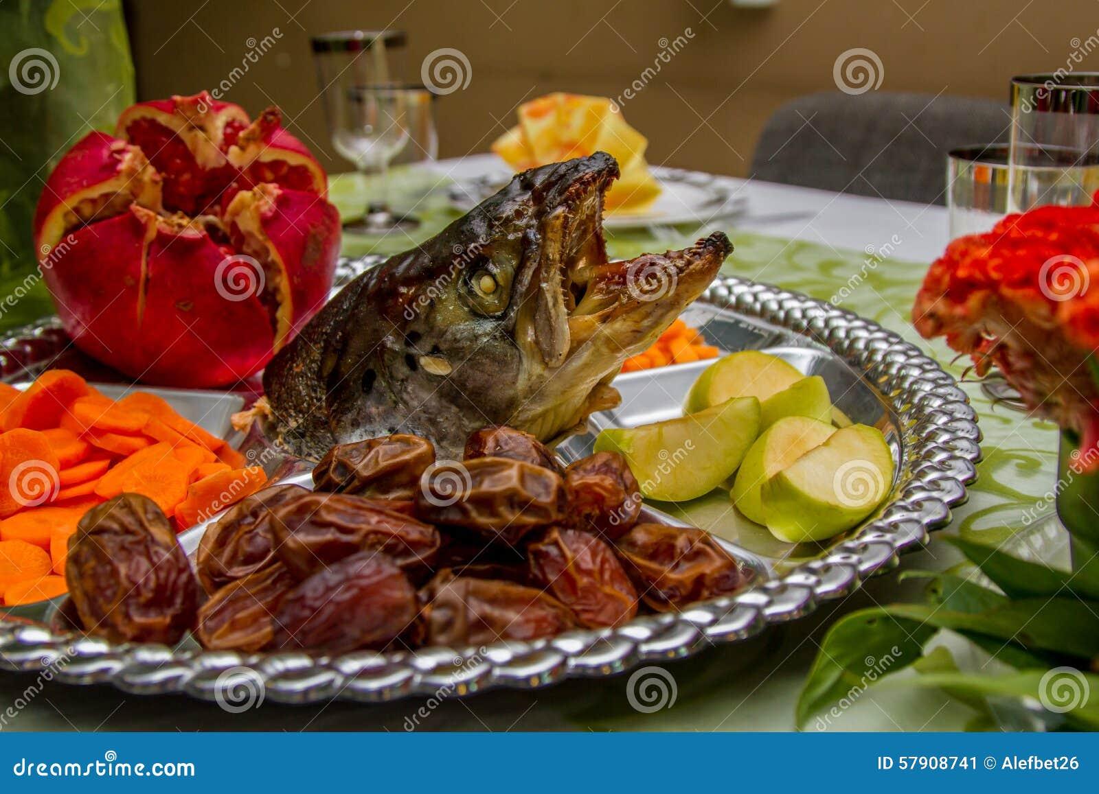 Jewish holidays rosh ha shana stock photo image 57908741 for Jewish fish dish