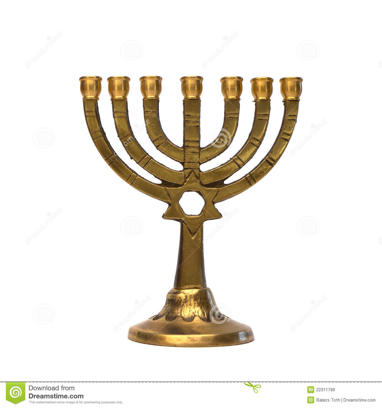 Jewish Menorah Royalty Free Stock Images Image 22311799