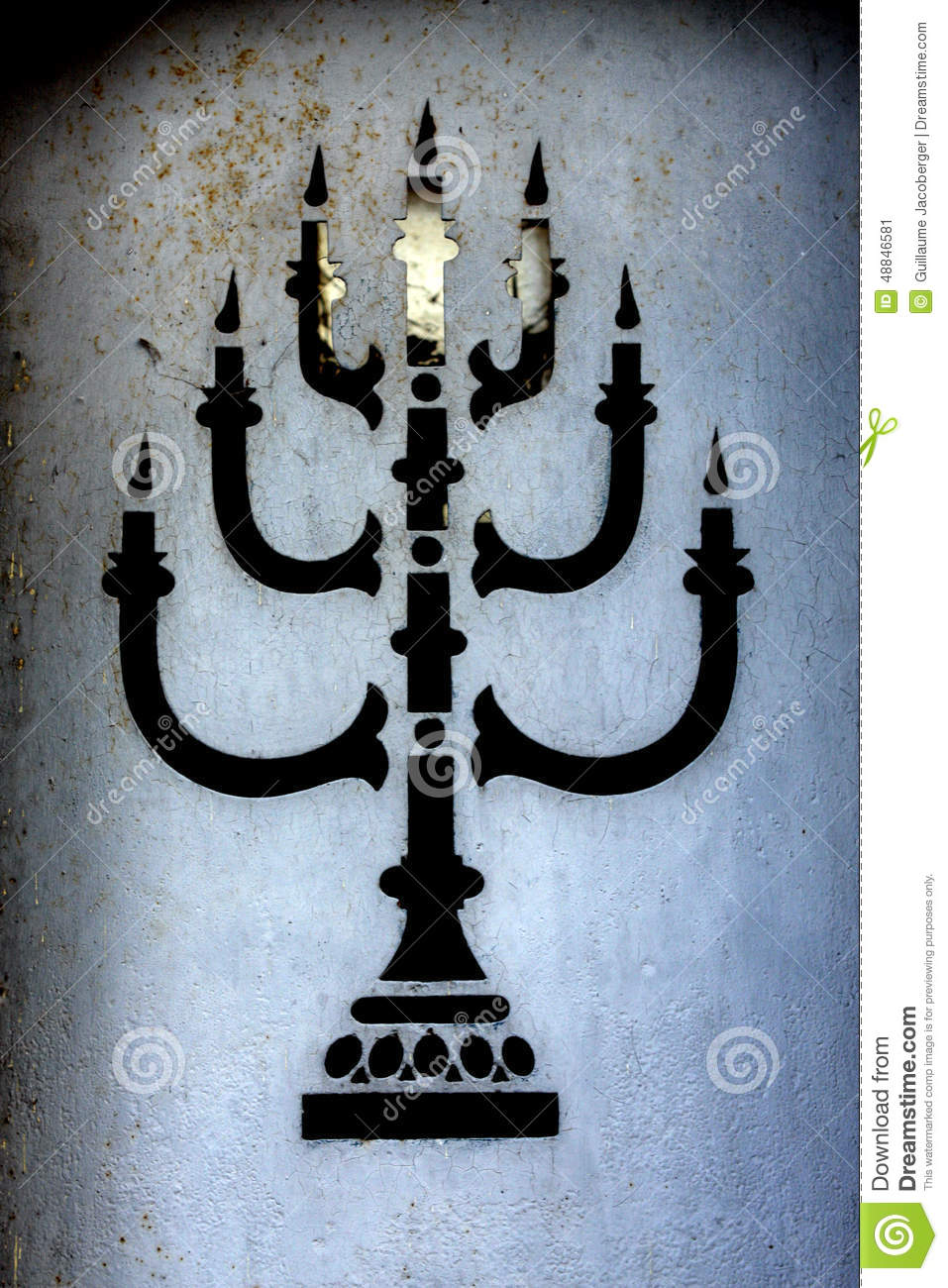 Jewish Menorah stock image. Image of star, seven, generally - 48846581 for Ancient Lampstand  146hul