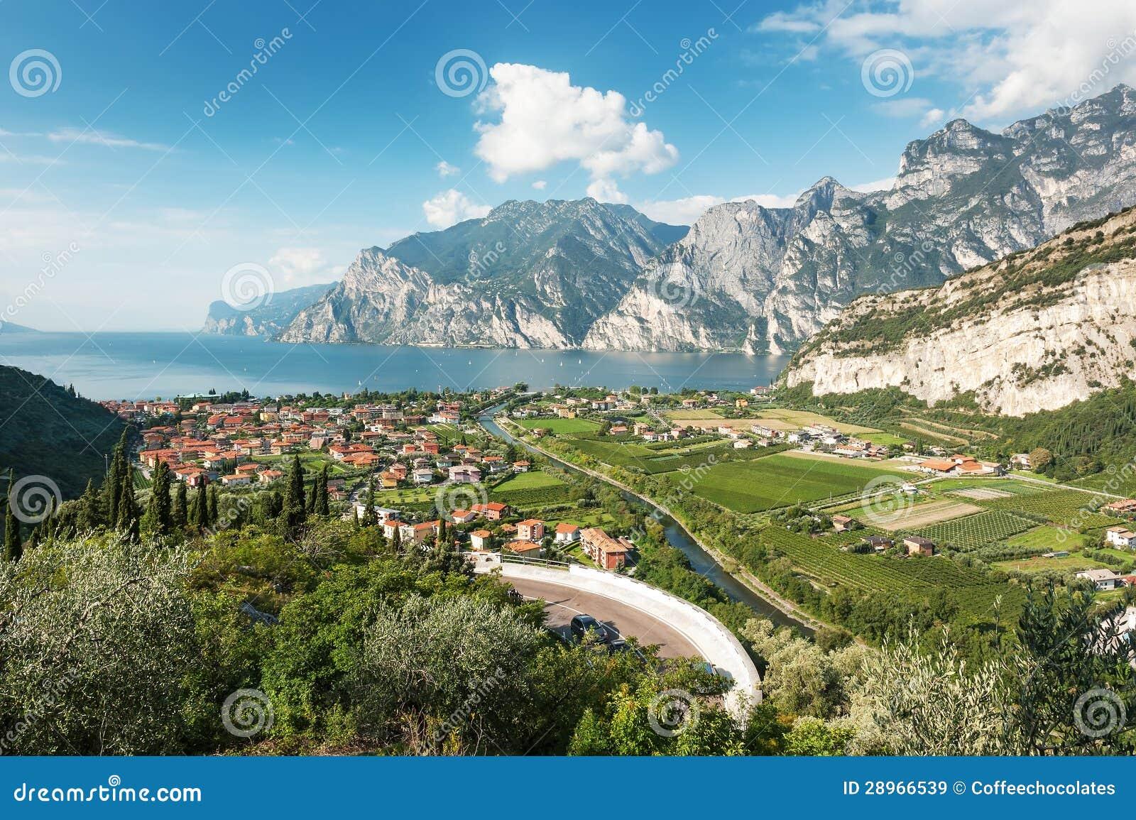 Jeziorny Garda, Włochy