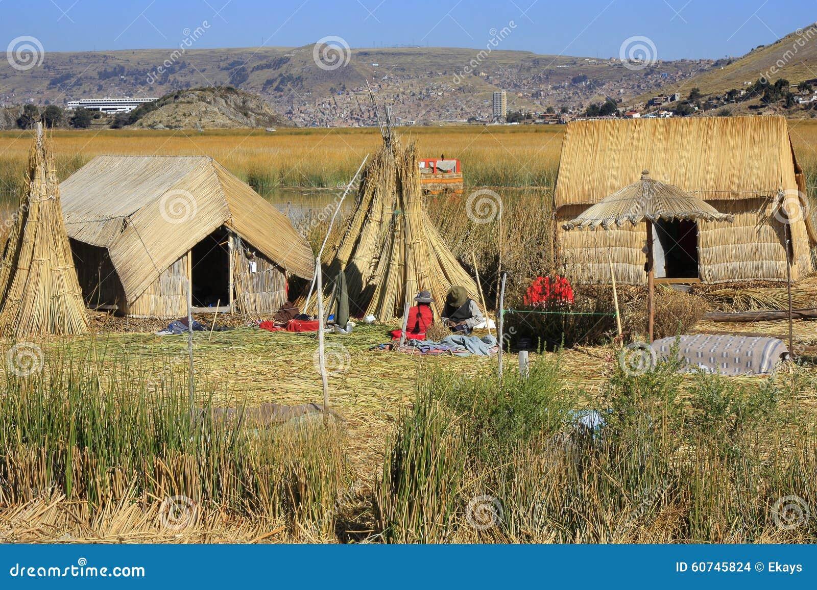 Jeziorny Titicaca c