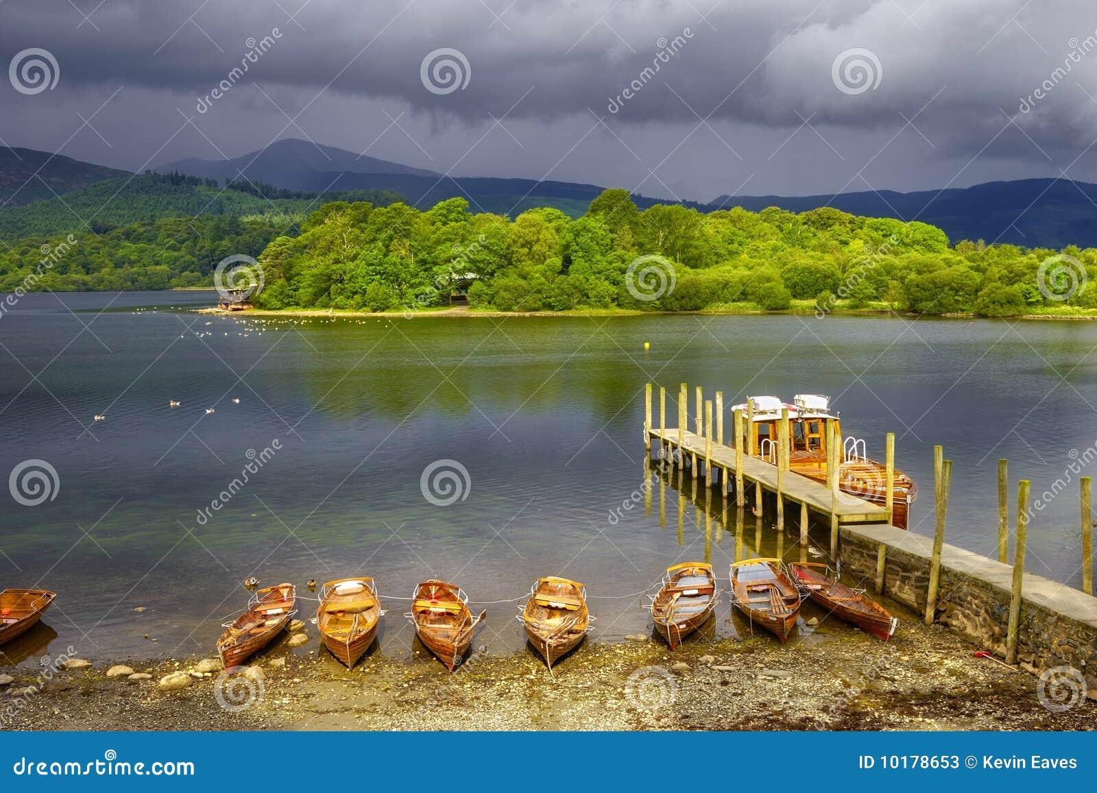 Jezioro derwent woda