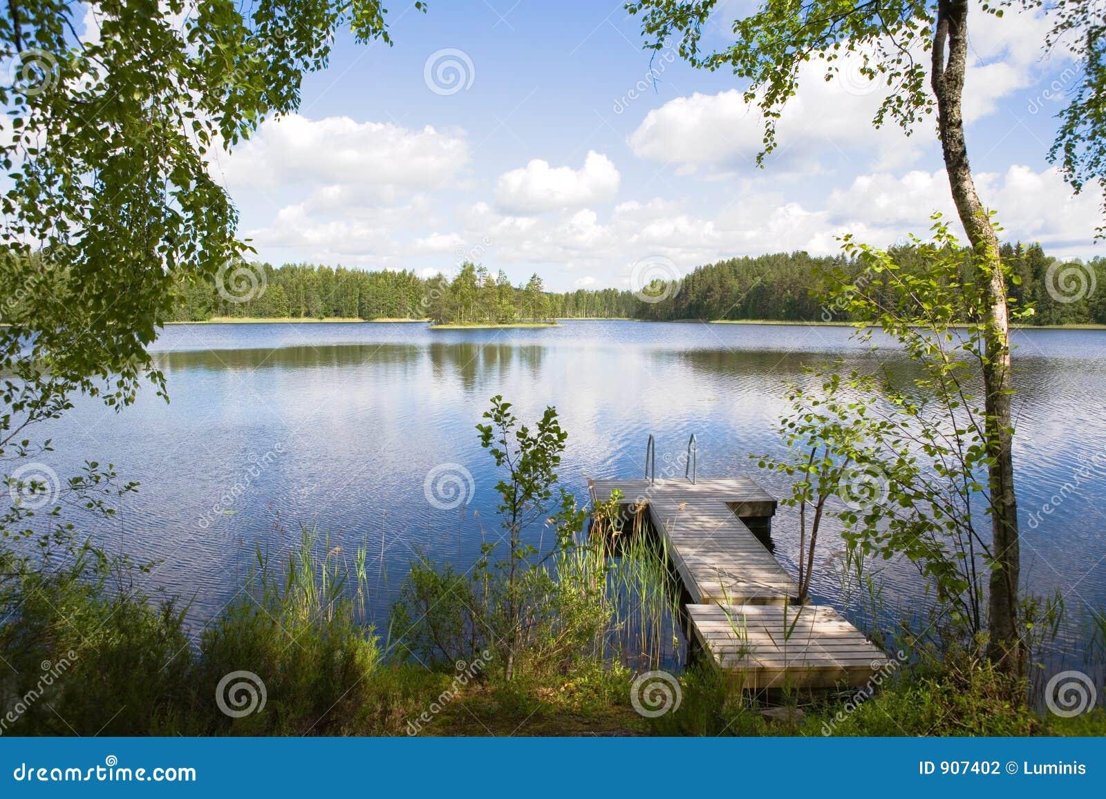 Jezioro lato