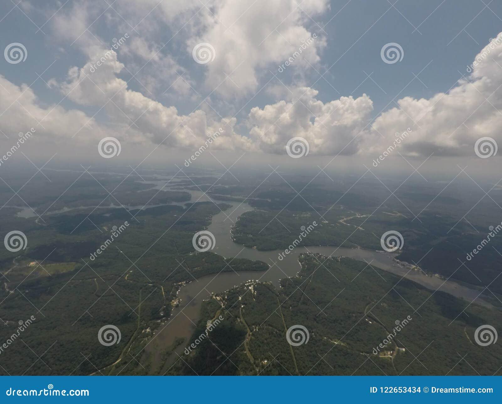 Jezioro Ozarks Missouri