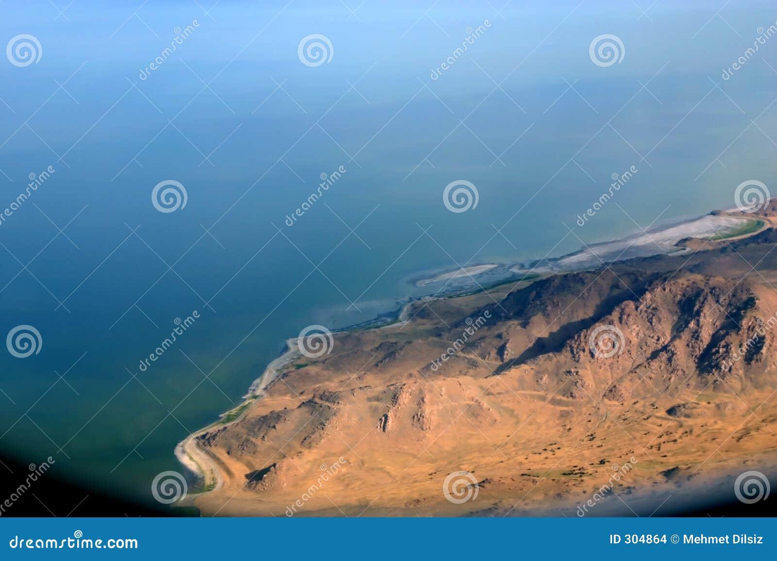 Jezioro sól pominięto miasta