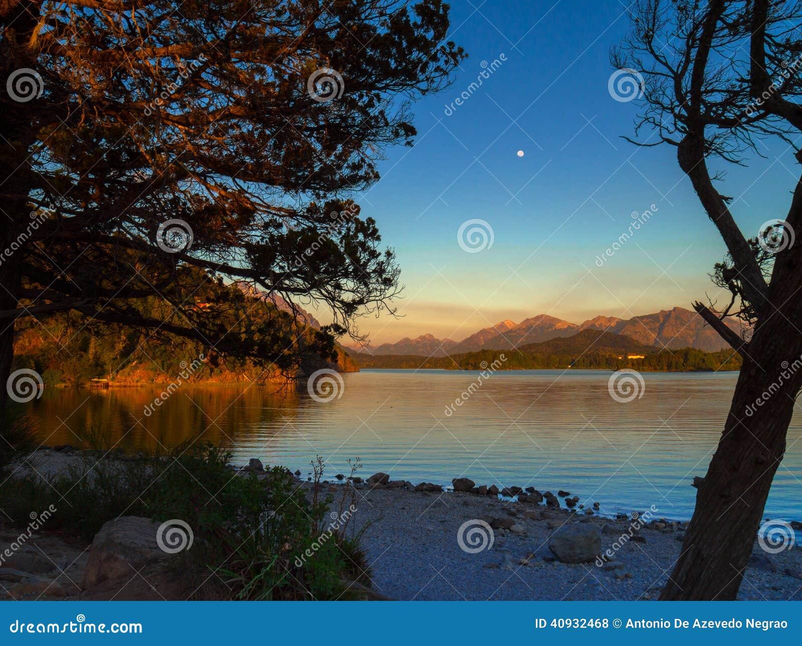 Jezioro w Bariloche