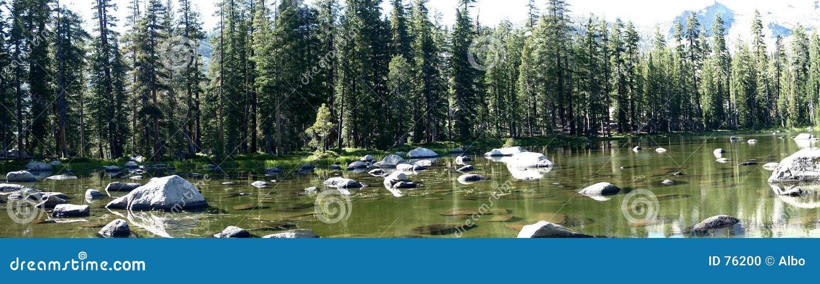 Jezioro Yosemite