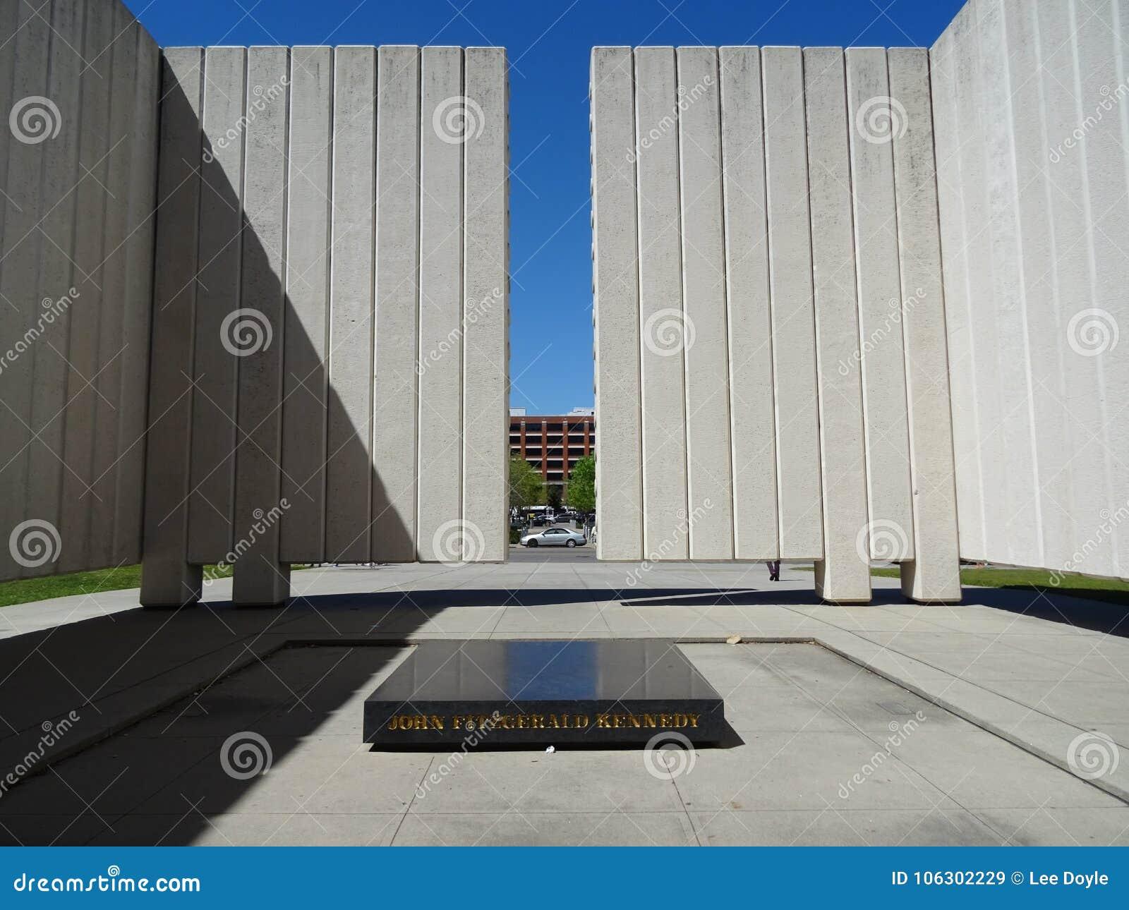 JFK pomnik Dallas