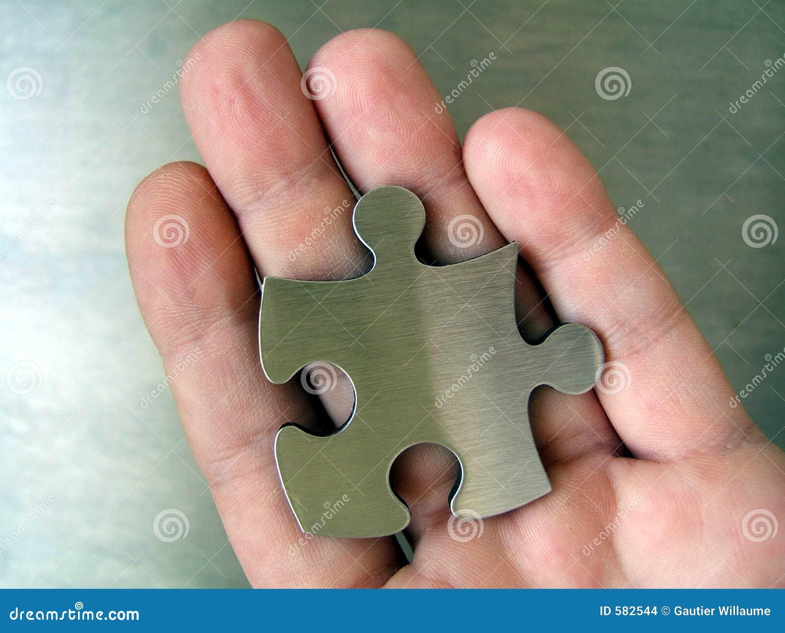 Jigsaw in Hand