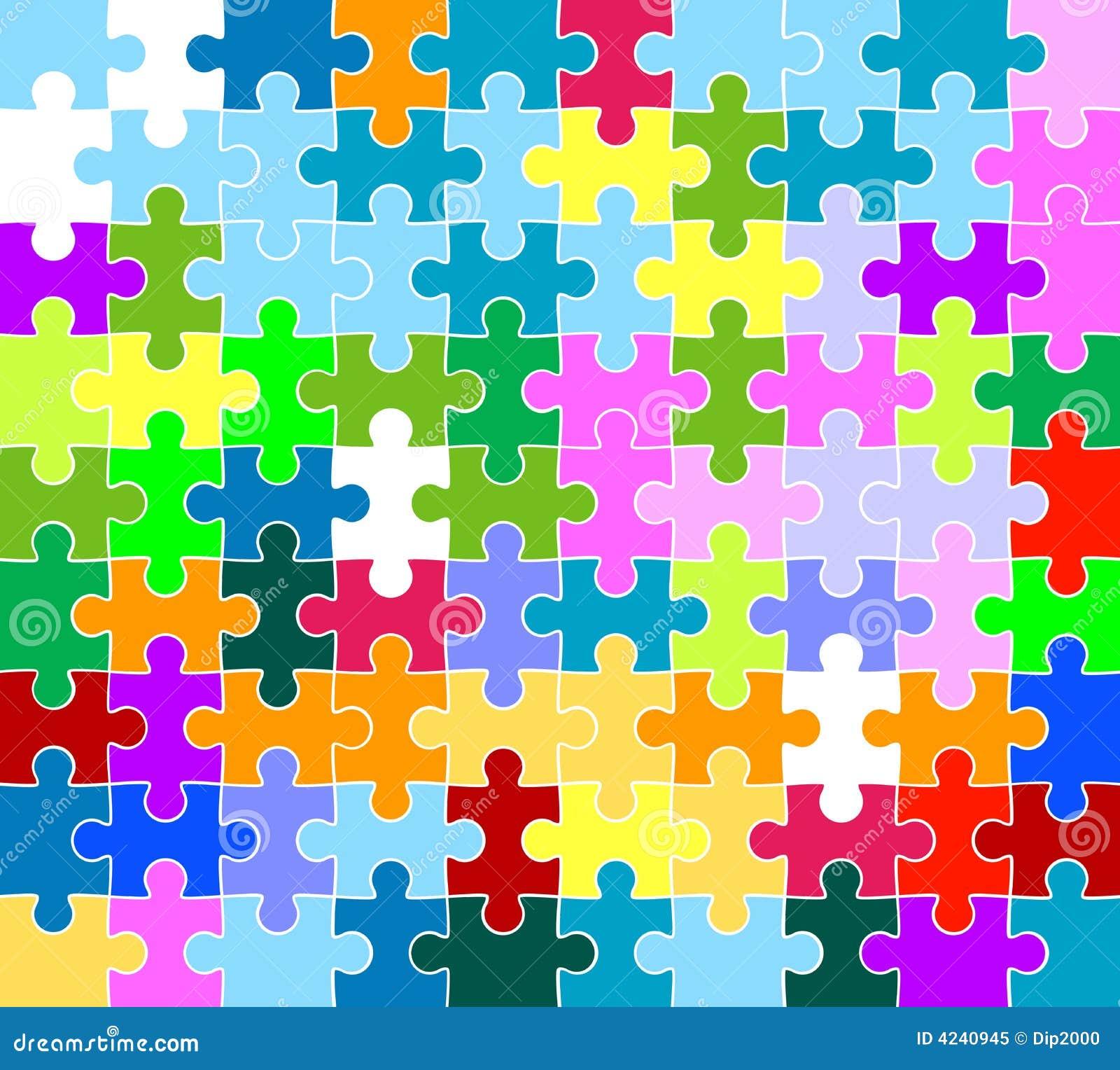 Jigsaw Puzzle Pattern ...