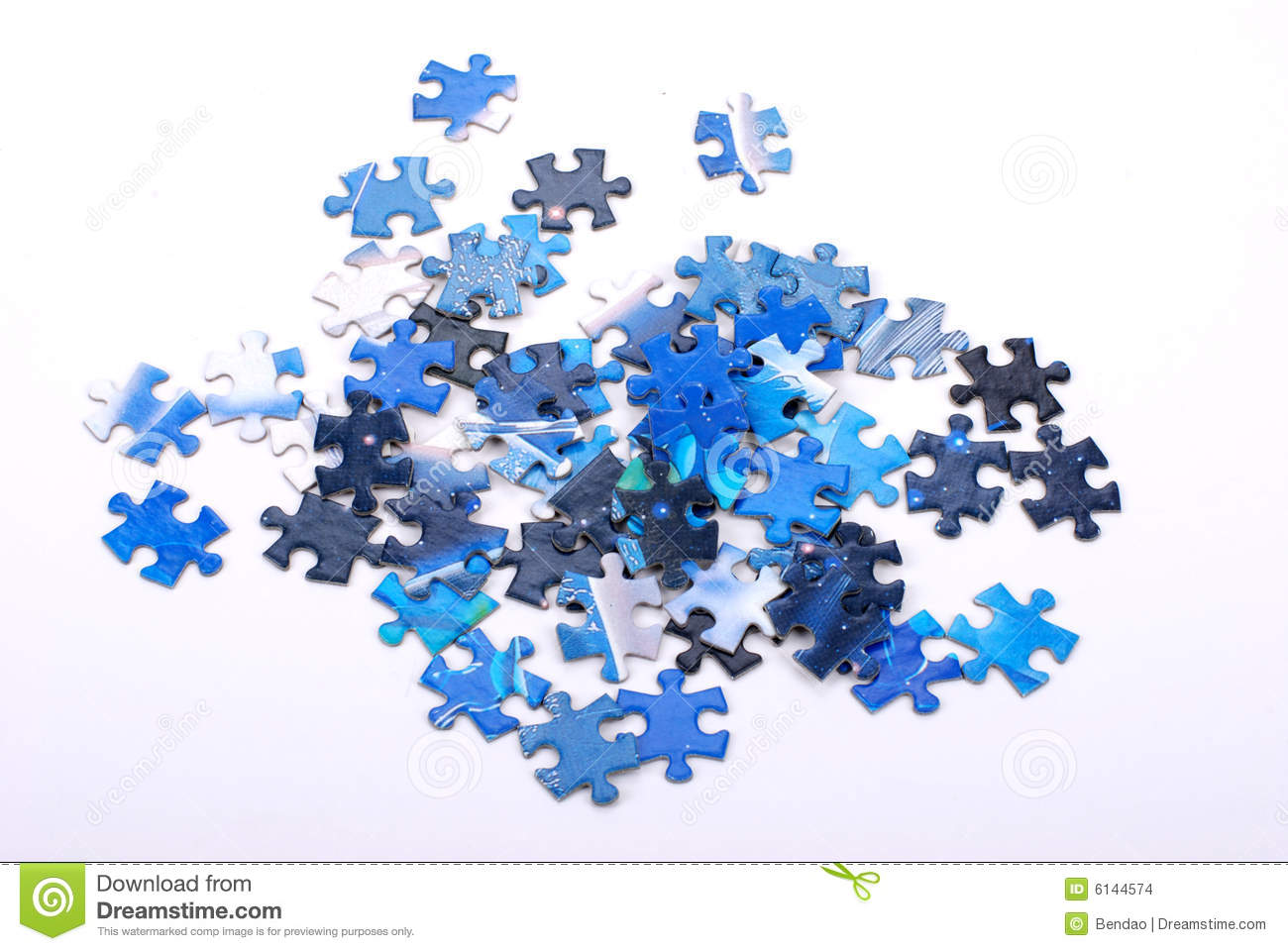 Jigsaw Puzzle Pieces Stock Photo Image Of Commerce Business