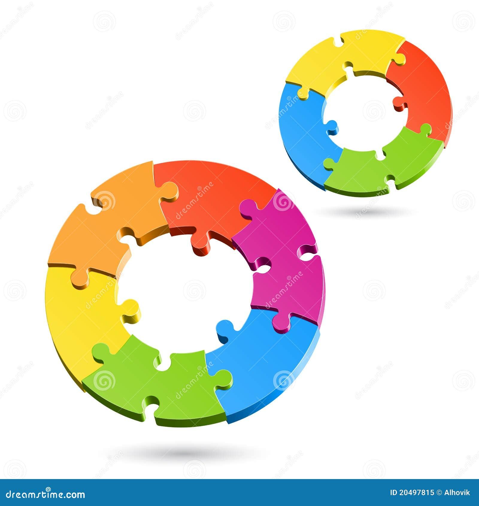 Jigsaw Puzzle Wheels Royalty Free Stock Photo - Image ...