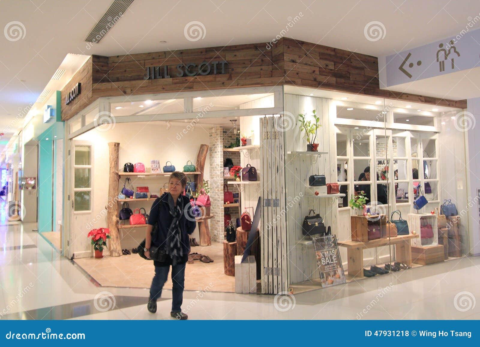 Jill scott shoppar i Hong Kong