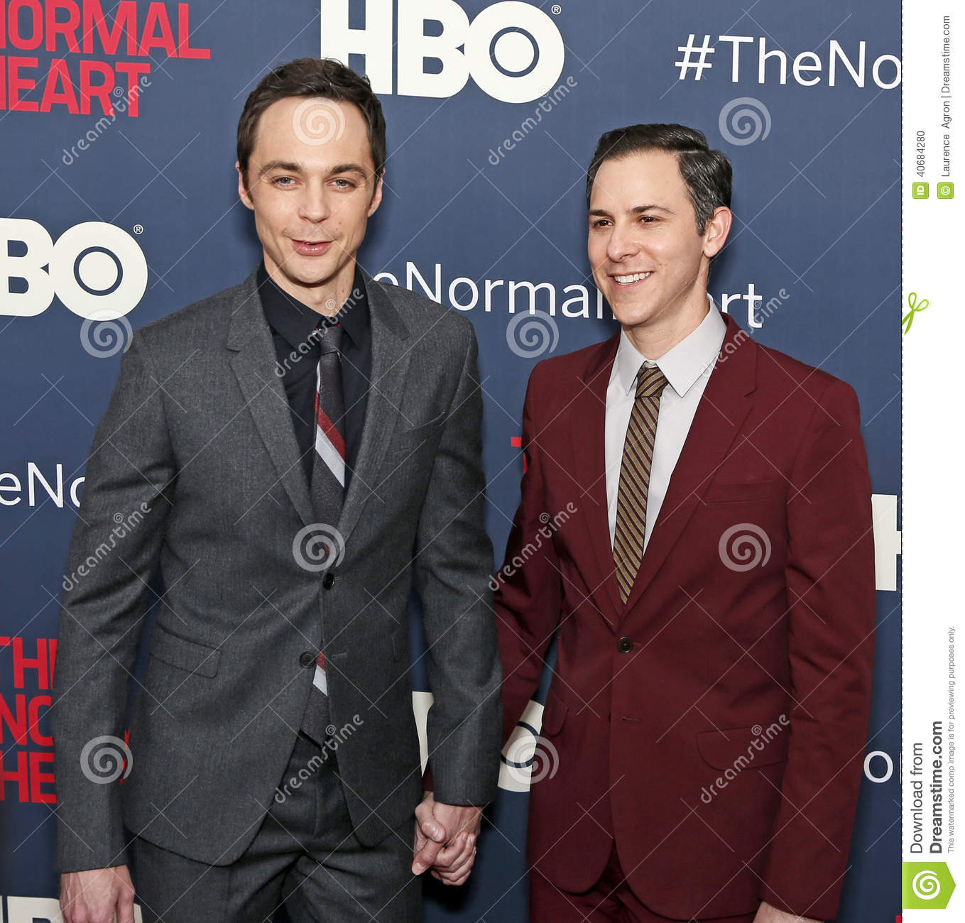 Editorial Image: Jim Parsons and Todd Spiewak