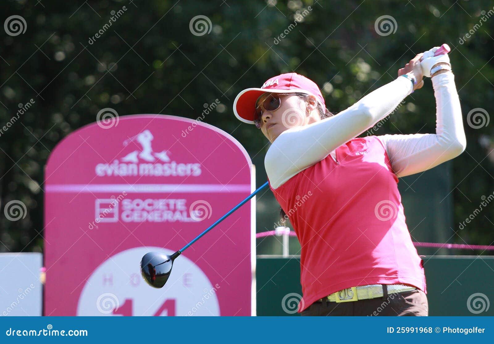 Jimin Kang på golf Evian styrer 2012