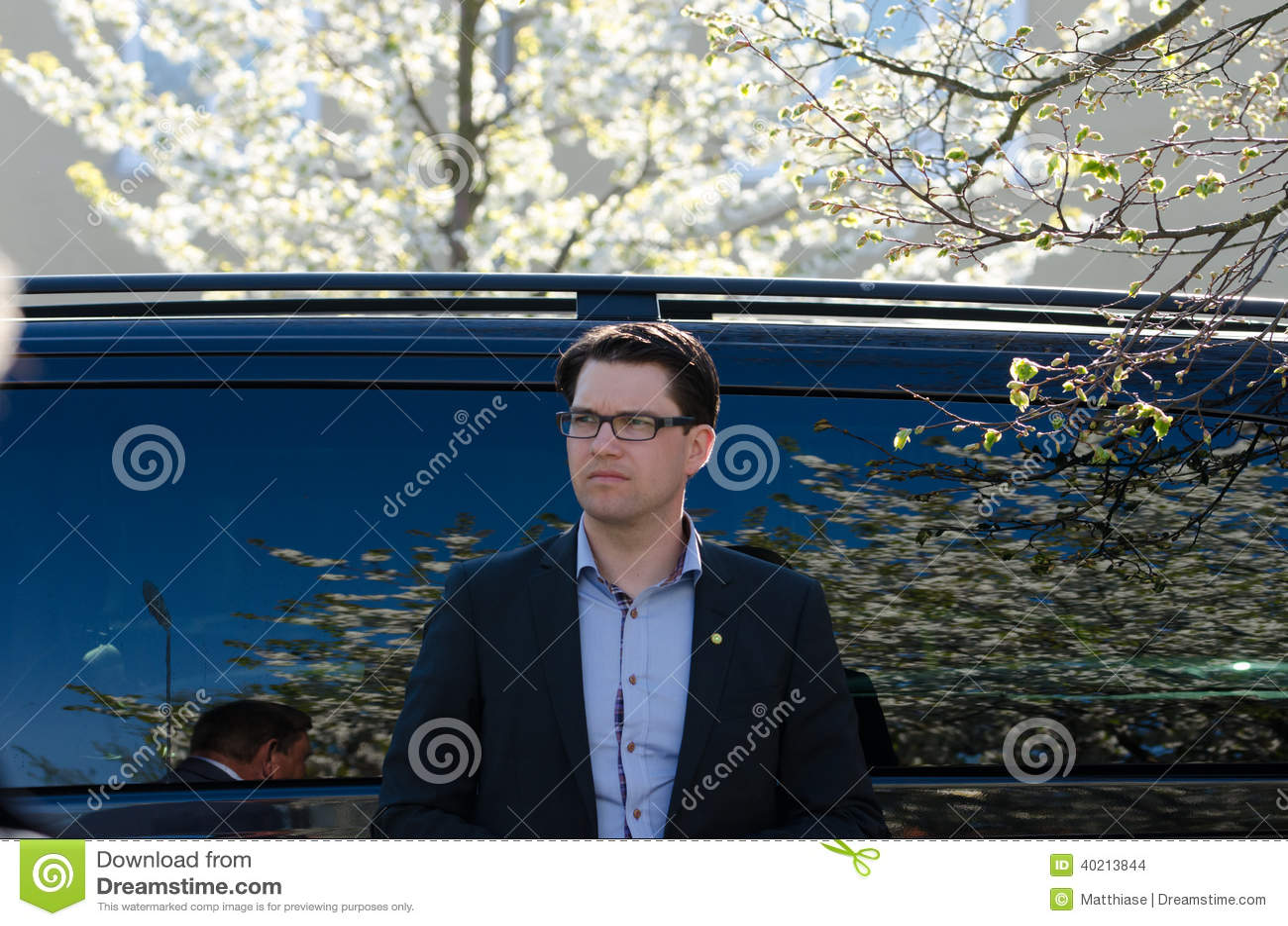 Jimmie Kesson Current Leader Sweden Democrats