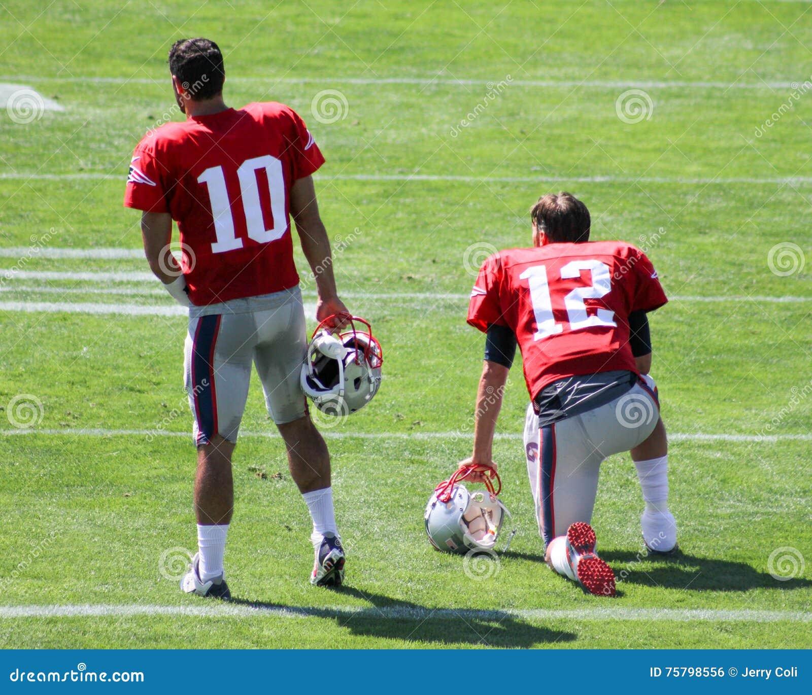Jimmy Garropolo e Tom Brady