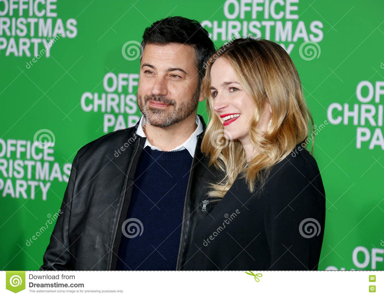 Jimmy Kimmel And Molly McNearney Editorial Stock Photo - Image of ...