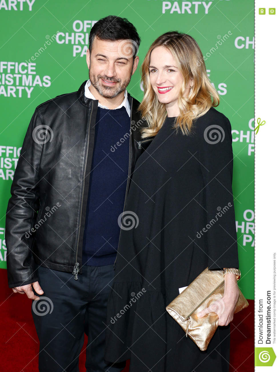 Jimmy Kimmel And Molly McNearney Editorial Photo - Image of office ...