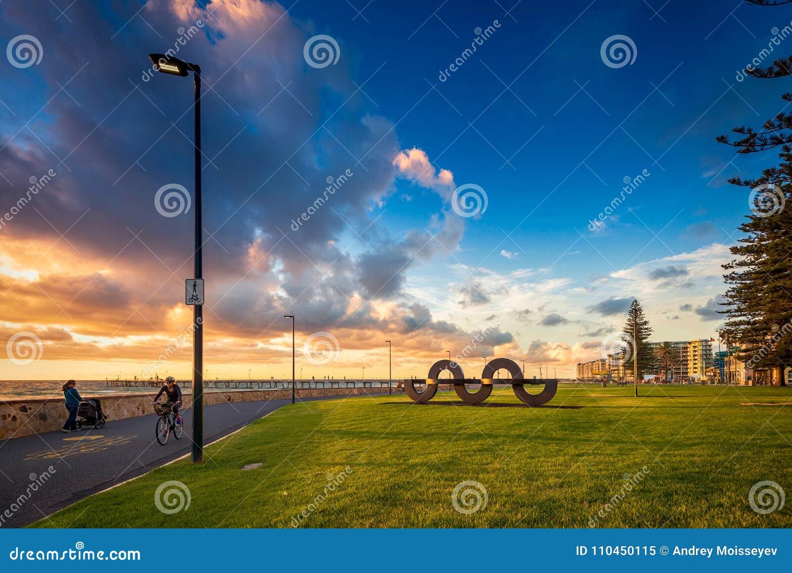 Jimmy Melrose Park i Glenelg, södra Australien