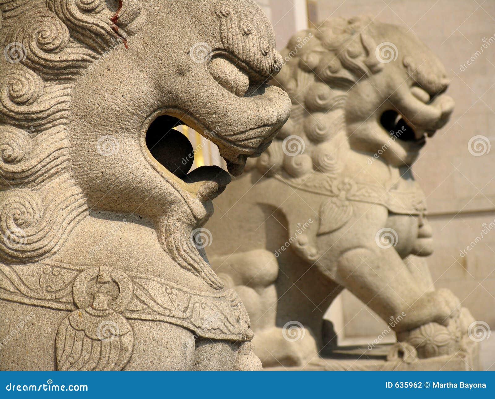 Download Jing висок льва стоковое фото. изображение насчитывающей камень - 635962