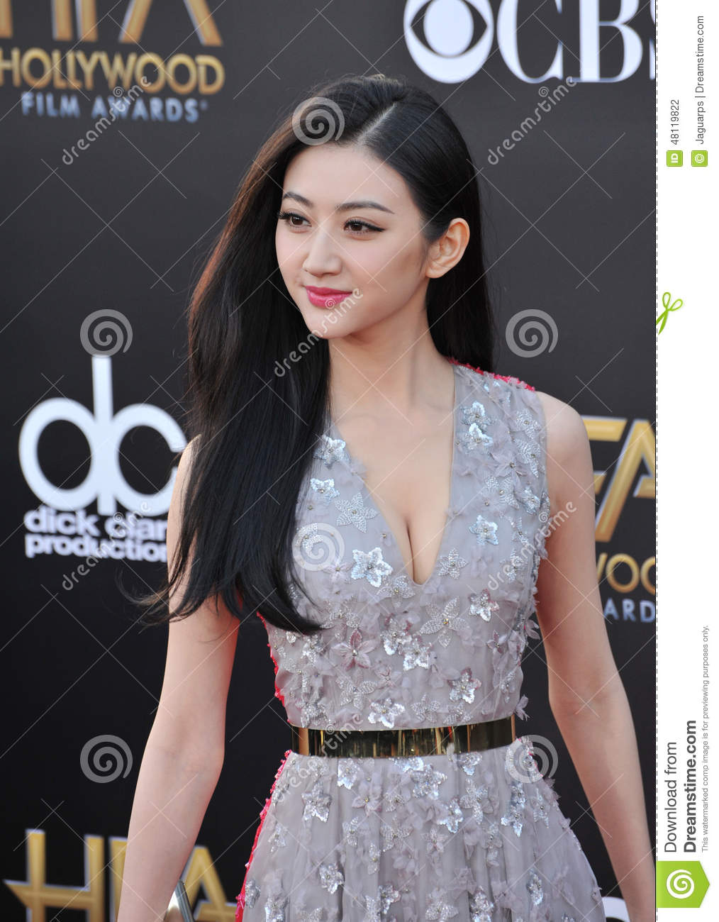 LOS ANGELES, CA - NOVEMBER 14, 2014: Jing Tian at the 2014 Hollywood ...