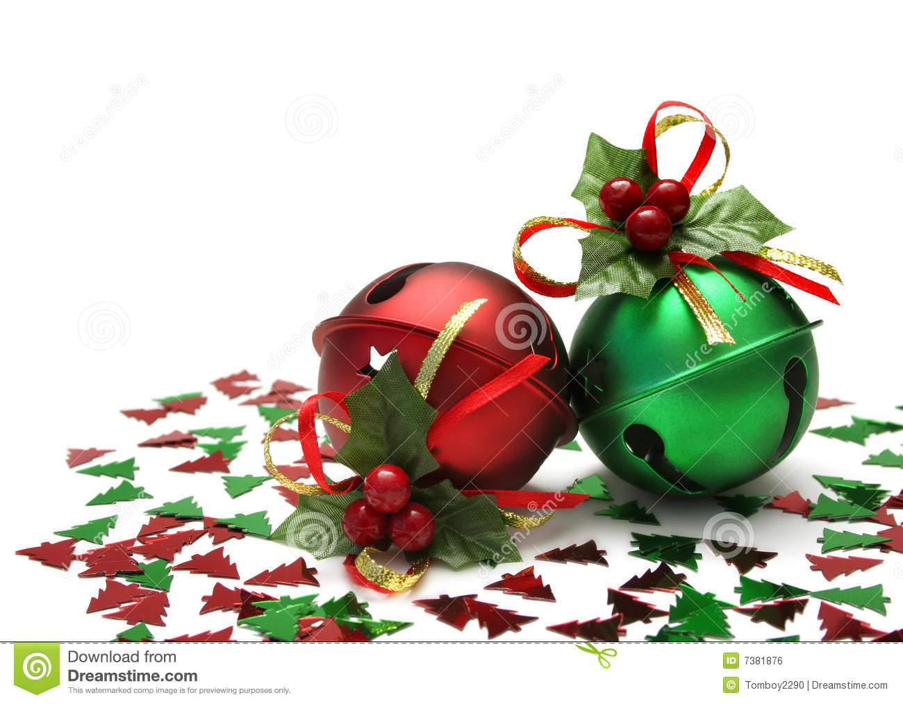 Jingle Bells Stock Photo Image Of Noise Green Sound 7381876