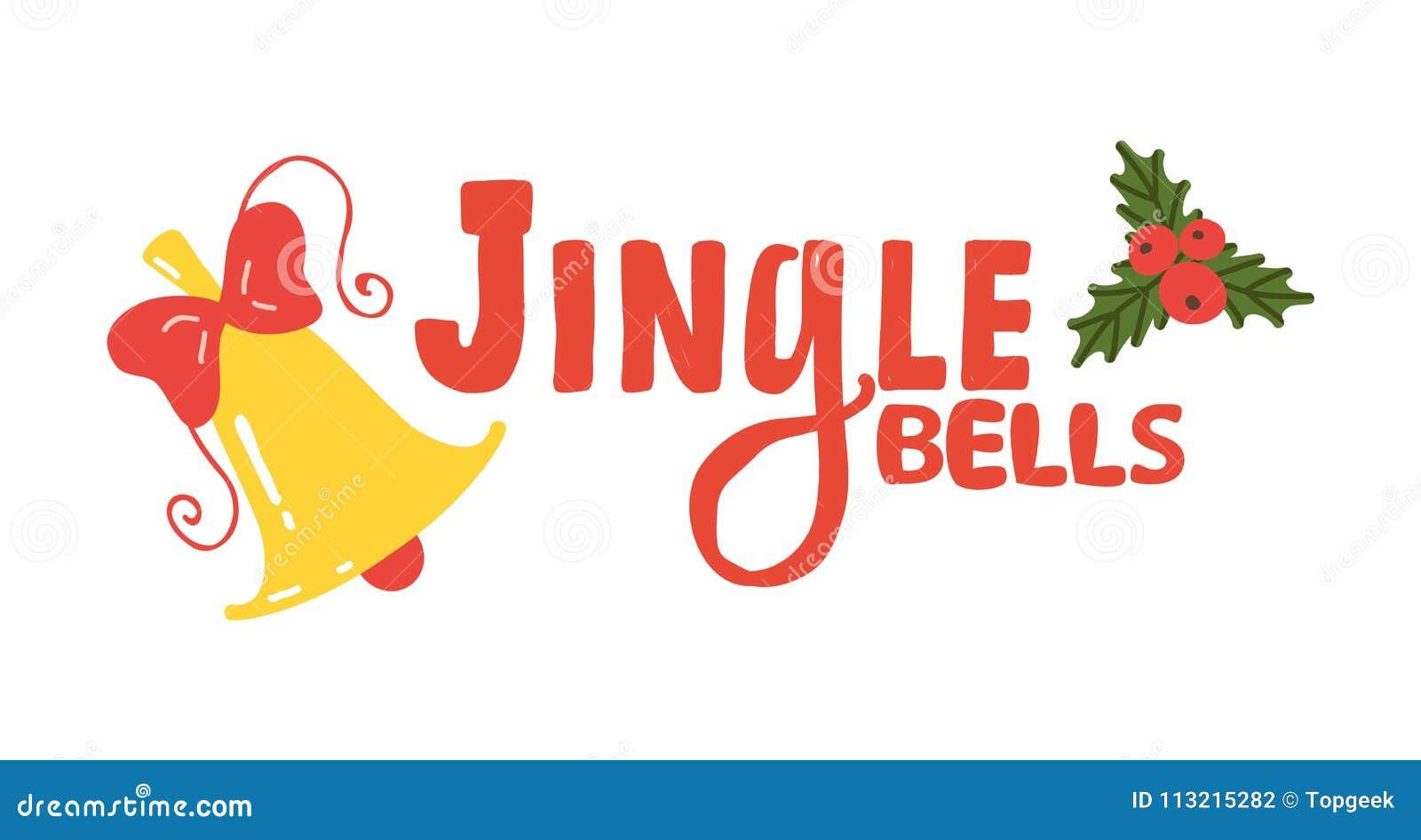 Jingle Bells Sign Icon Vector-Illustration
