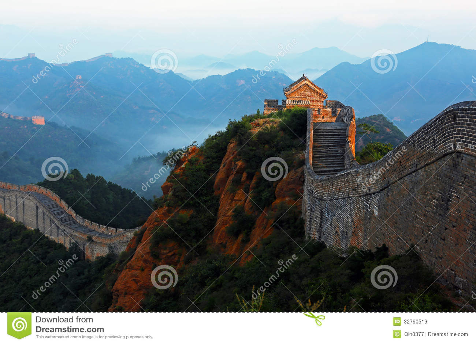 Jinshanling wielki mur
