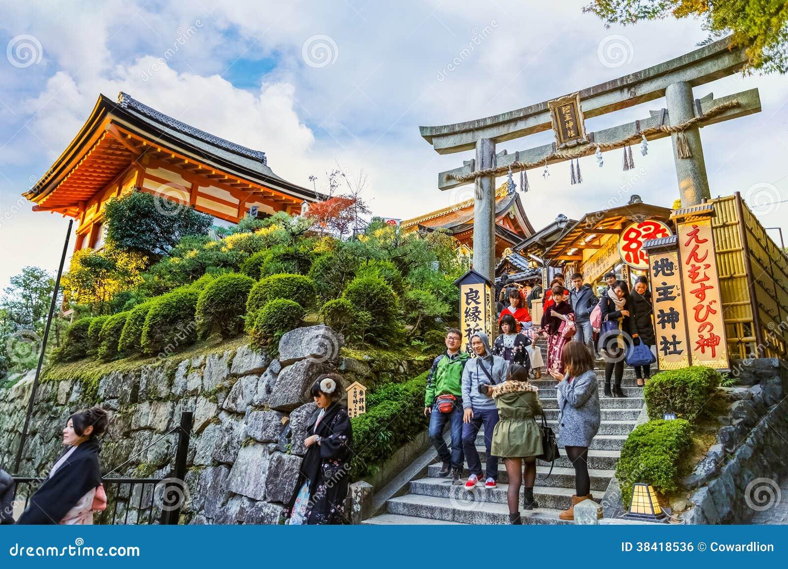 Jishu-jinja a Kyoto