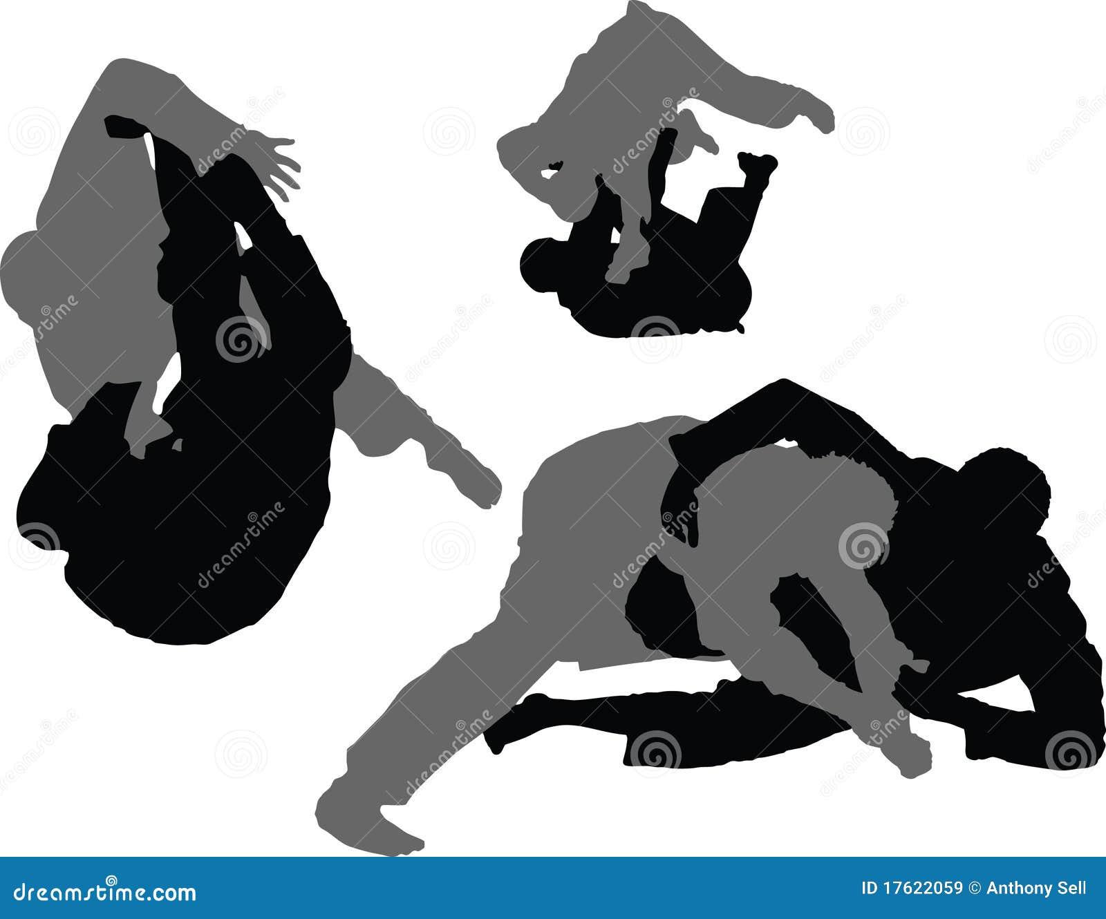 jiujitsu brasileiro varreduras 01 imagens de stock wrestling clipart free wrestling clip art vector
