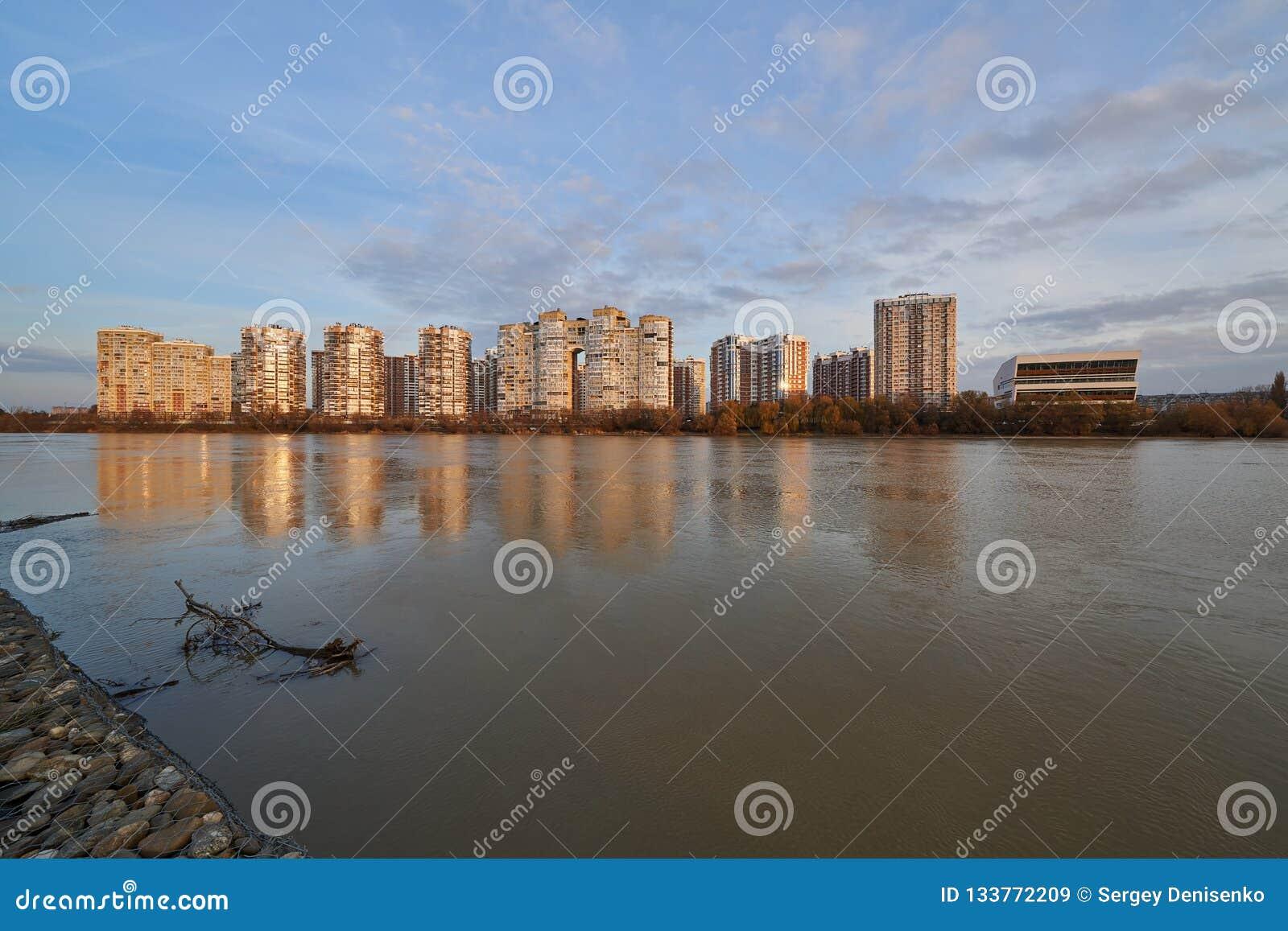 JK Novyj Gorod Zadziwiający jesień widok kompleks klasa business budynki mieszkalni z wszystkie infrastrukturą