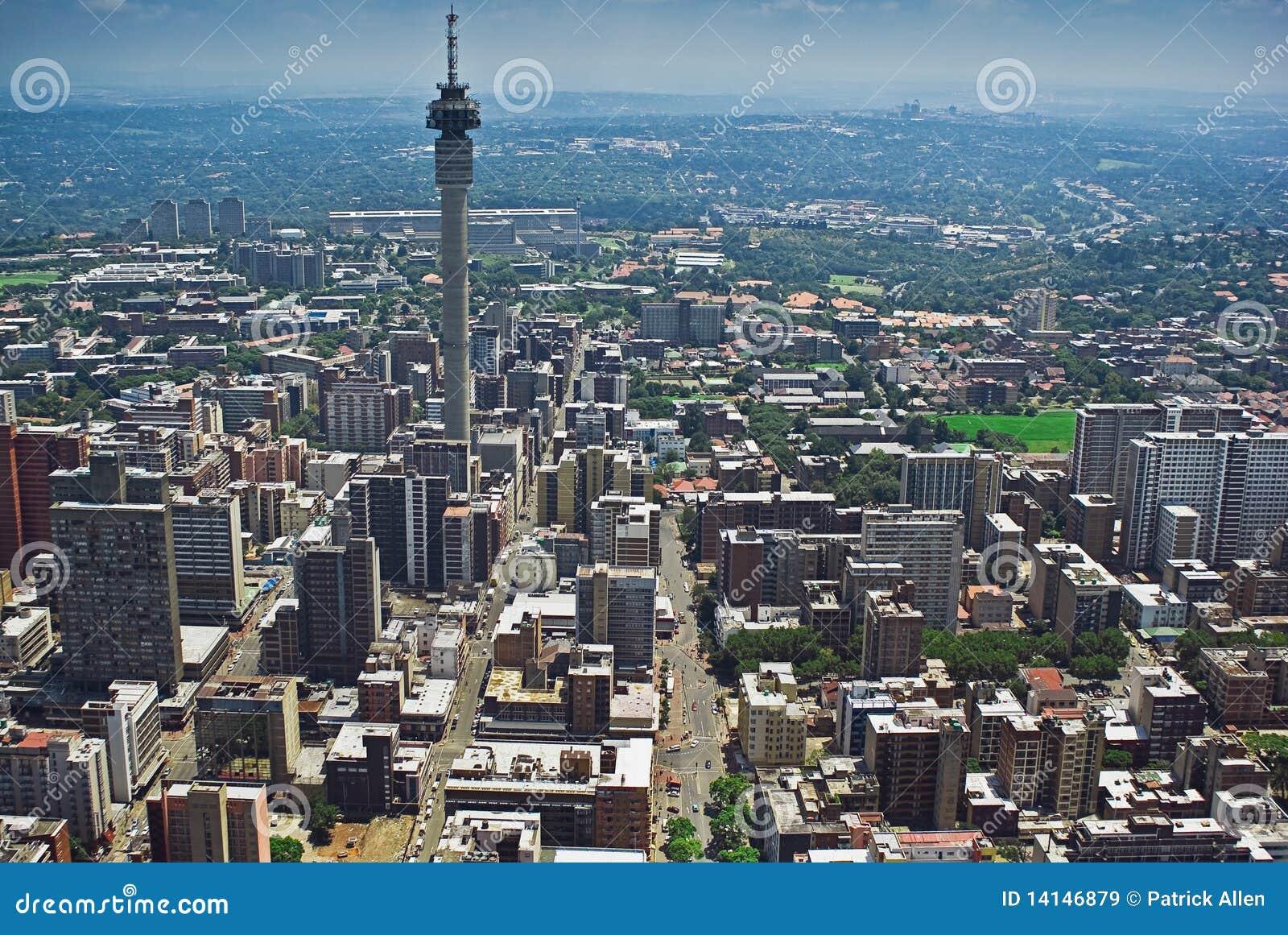 Joanesburgo CBD - Vista aérea