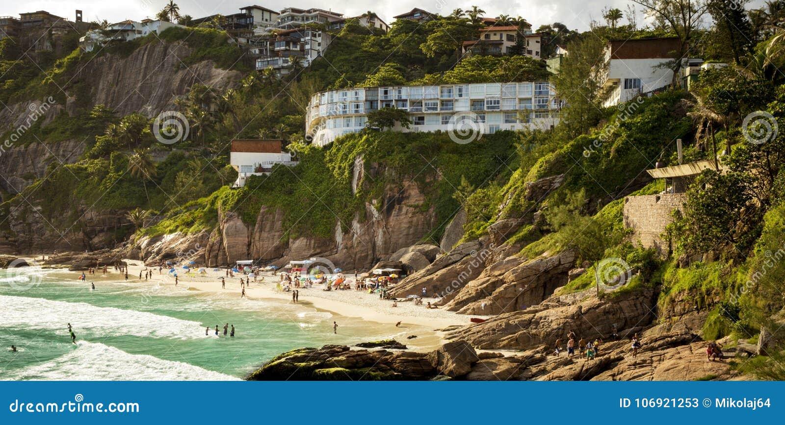 Joatinga plaży praia robi Joa w Rio De Janeiro