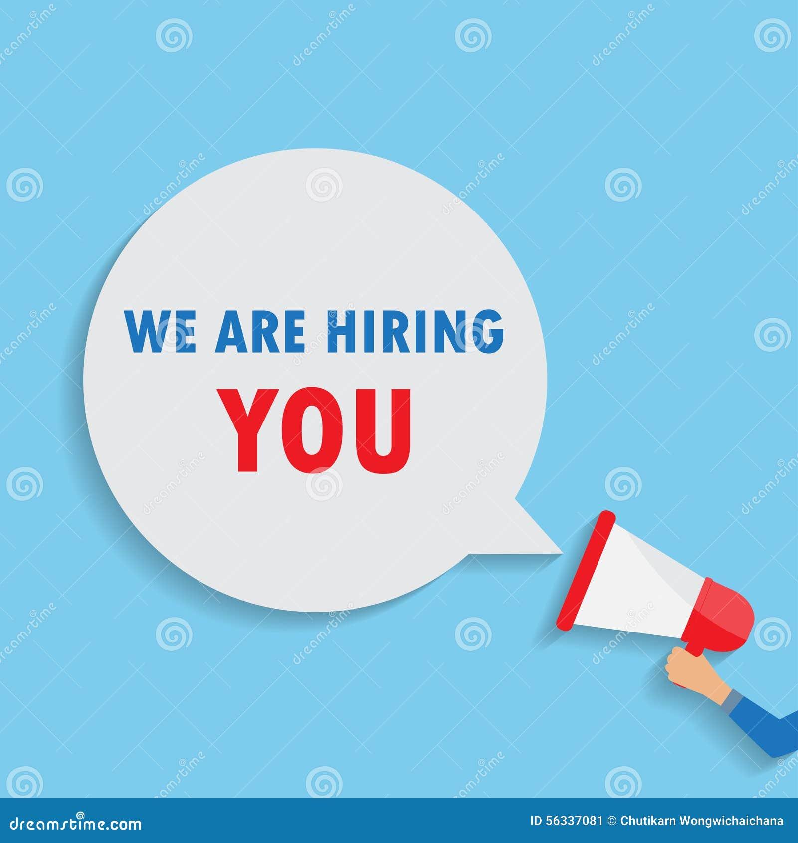 Job Announcement Stock Vector - Image: 56337081