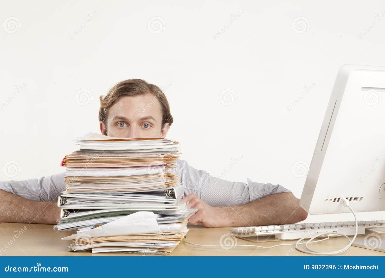 Job On Desk Royalty Free Stock Image