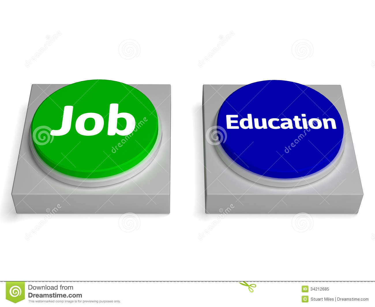What jobs/education is needed to work with stocks?