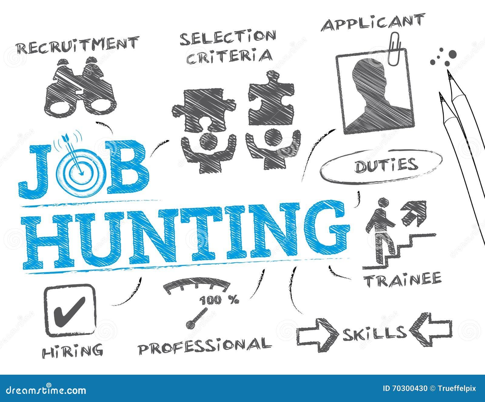 job hunting concept stock photo image 70300430 job hunting concept