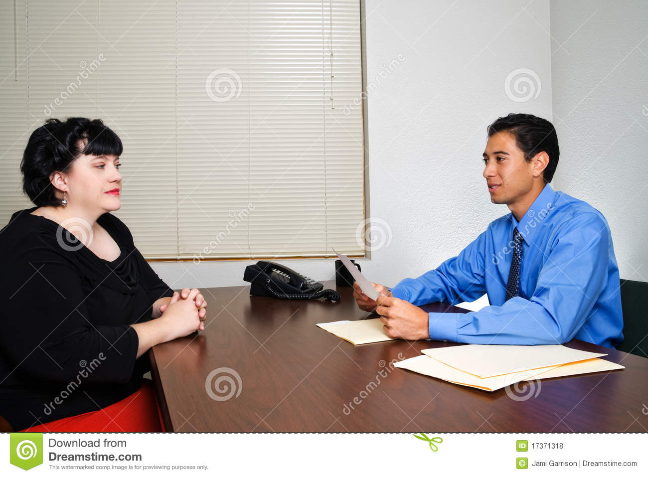 job interview royalty free stock photos image 17371318