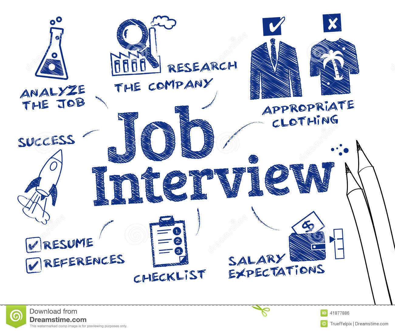job interview stock photo. image of application, enrol - 41877886