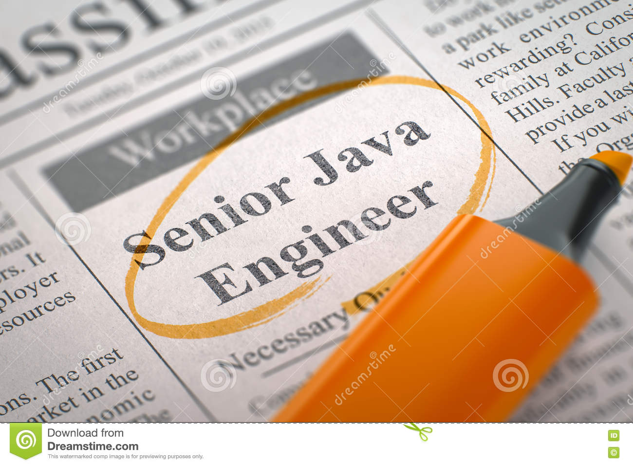 Job Opening Senior Java Engineer 3d