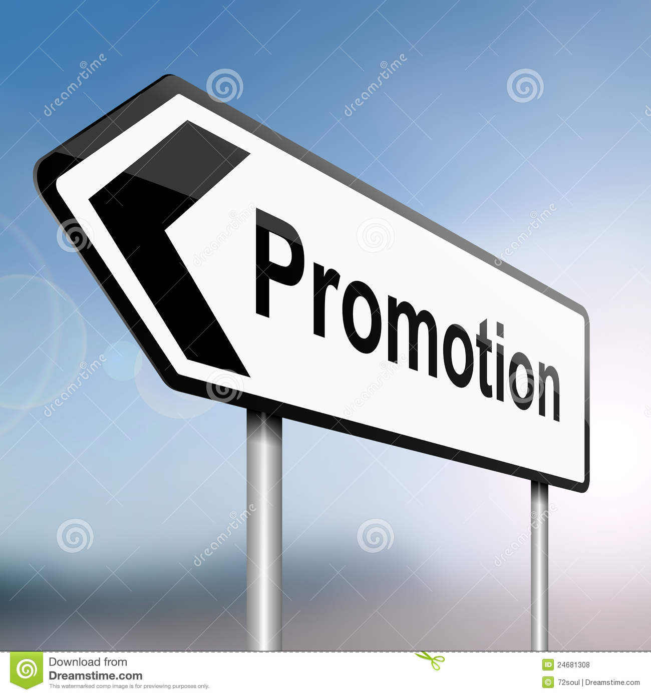 job promotion concept royalty stock photos image  job promotion concept