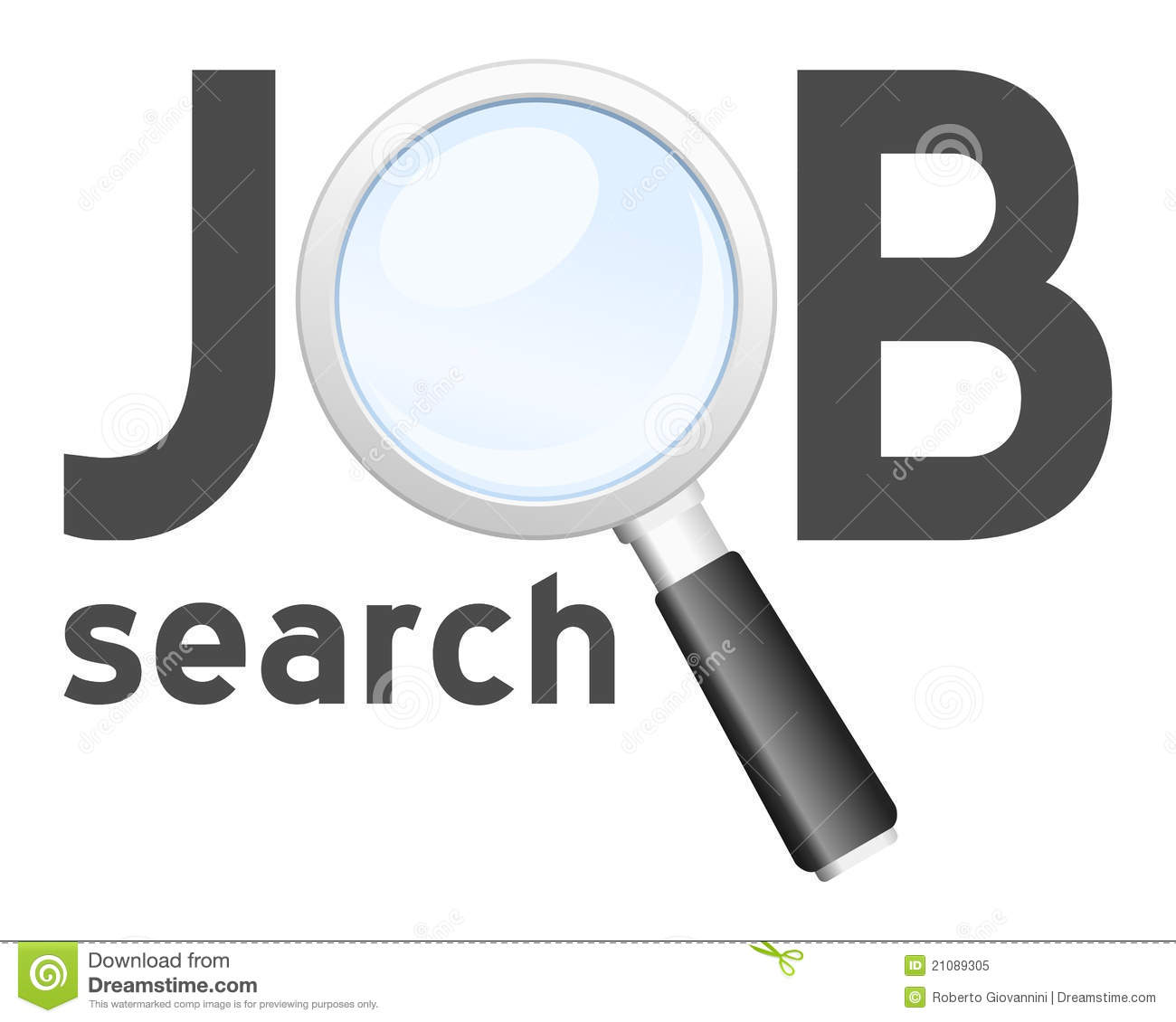 Search Free Stock Photos Job Search Logo
