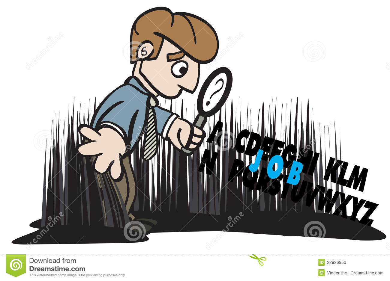 job seeker looking seeking for job illustration stock photo job seeker looking seeking for job illustration
