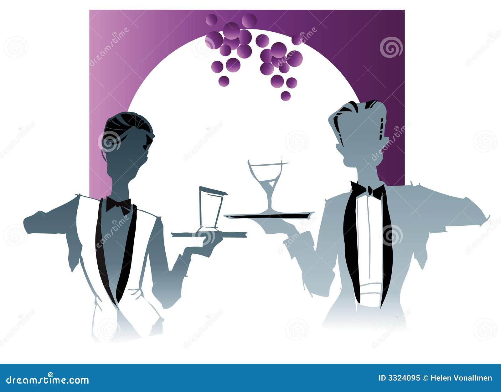 Teria cartoons illustrations vector stock images 28 for Job serveur